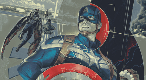 Mondo Unveils CAPTAIN AMERICA: THE WINTER SOLDIER Posters on Sale Tomorrow