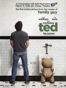 'Ted' Poster Debut