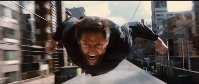 THE WOLVERINE Train Fight Extended Clip